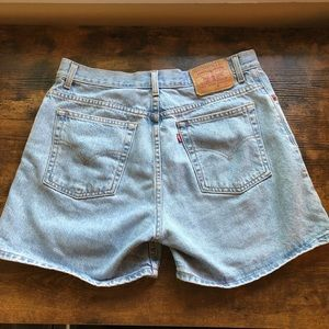 Vintage Levi High waisted shorts; OFFERS WELCOMED